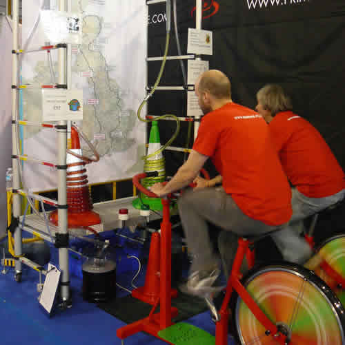 Interactive Experience for Sustrans Stand at Bike Show