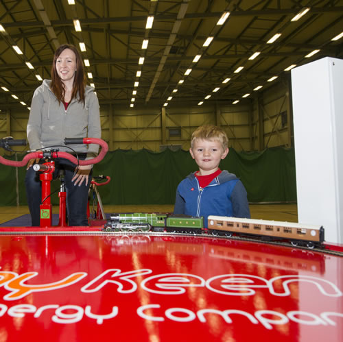 Human Powered Trains for Dundee Science Week