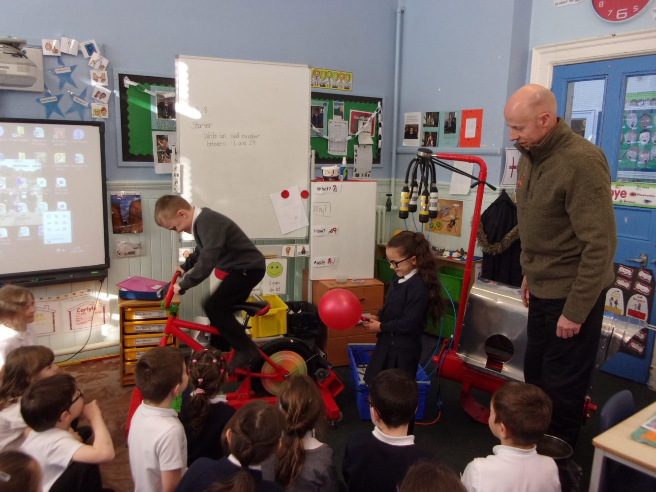 Primary School Enjoys Fun Approach to Reduce Reuse Recycle Lesson